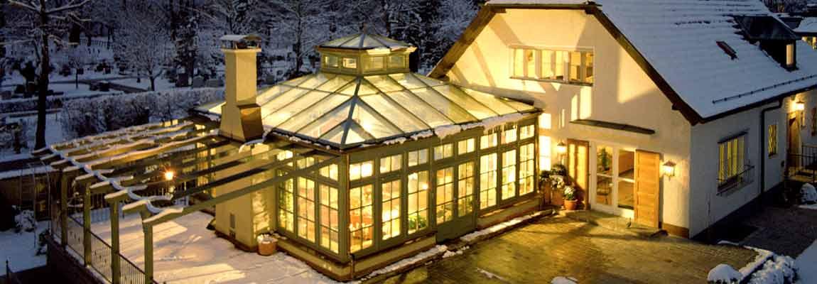 Wintergarten beheizt